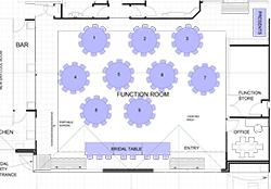Wedding Seating Plan (Max 100 Guests)