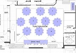 Wedding Seating Plan (Max 110 guests)